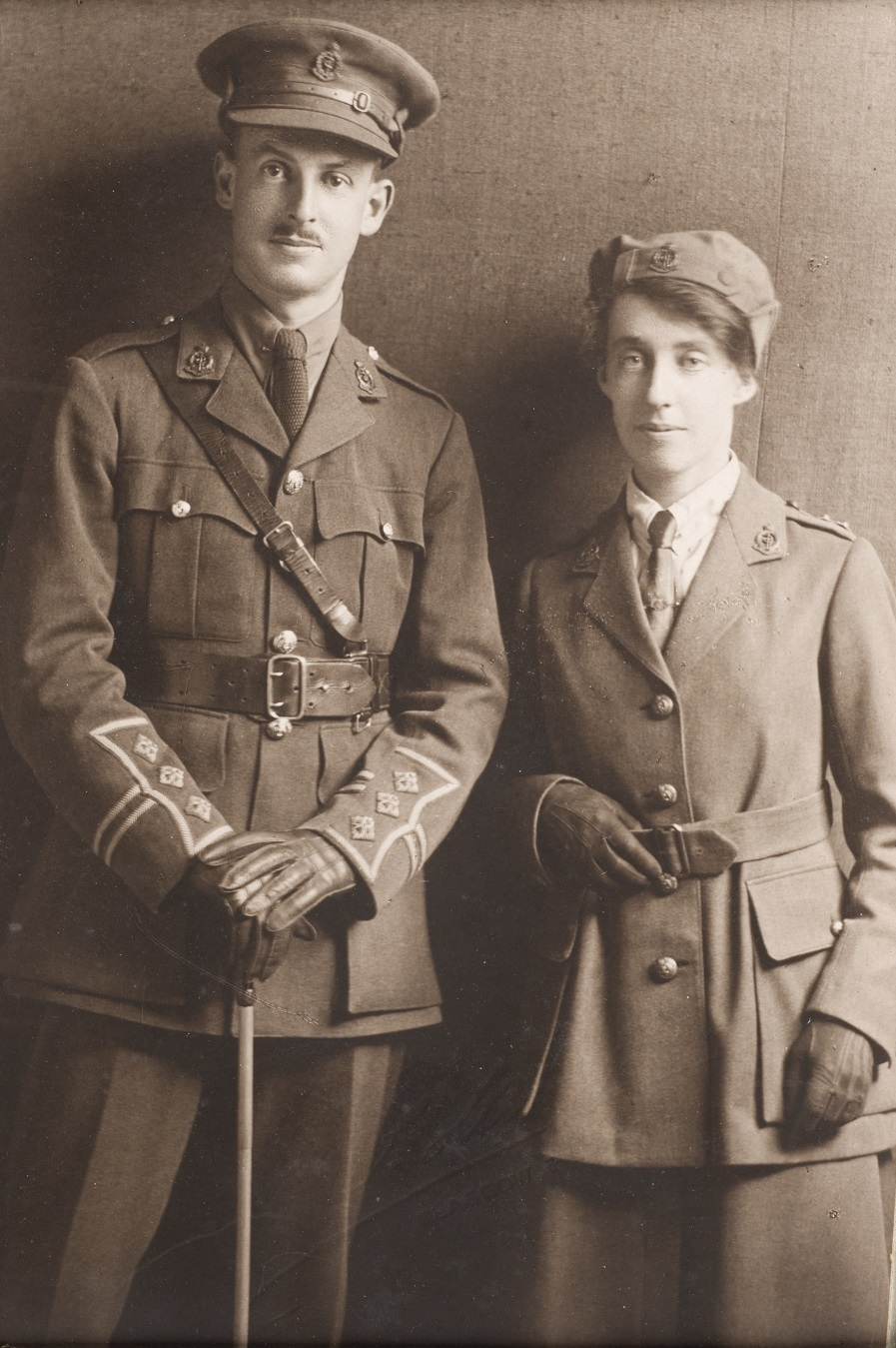 Dr Vera Scantlebury and her brother Dr George Clifford Scantlebury