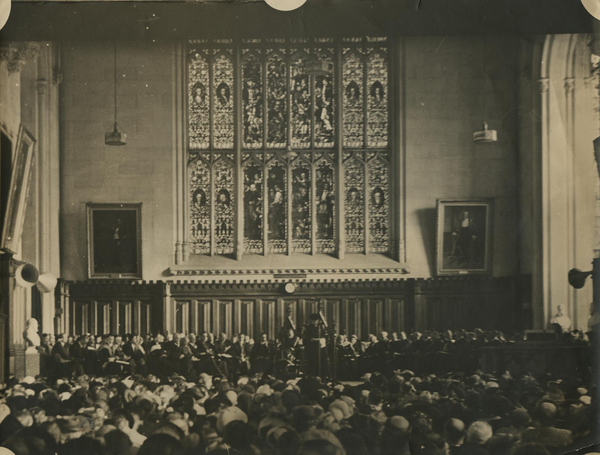 Interior of Old Wilson Hall, University of Melbourne